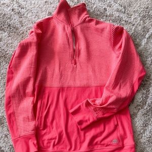 Adidas pink sweater, size s